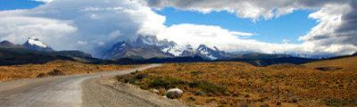 Argentinien - Strasse zum Fitz Roy Mountain
