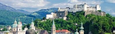 Österreich - Festung Hohensalzburg in Salzburg