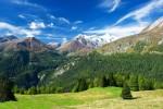Alpenpanorama in Österreich, Tirol