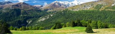 Kontinent Europa - Alpenpanorama in Österreich, Tirol