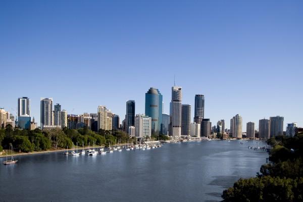 Skyline von Brisbane, Australien