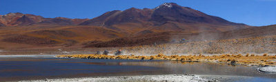 Bolivien - Bolivian desert and mountains