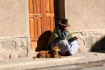 Begger in the Streets, Bolivia