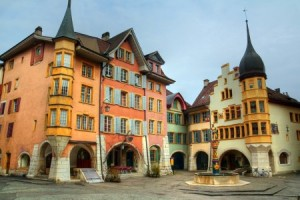 Biel, Jura Region, Schweiz