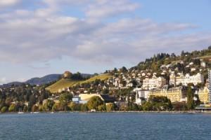Montreux, Genfersee, Westschweiz, Schweiz