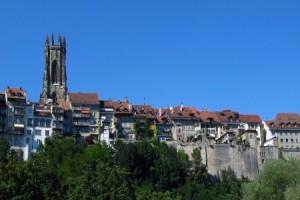 Fribourg, Pays de Fribourg, Westschweiz, Schweiz