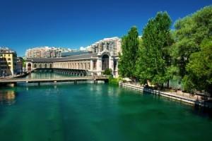 Genf, Genfersee, Westschweiz, Schweiz