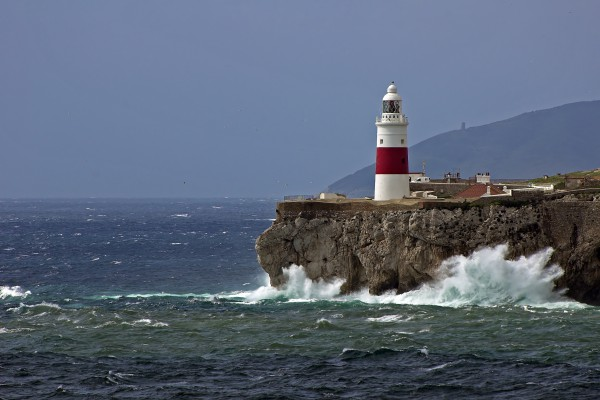 Leuchtturm am Europa Point, Gibraltar