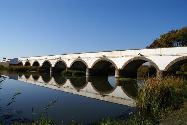 Brücke bei Hortobagy, Ungarn