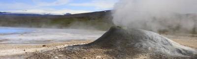 Island - Geothermal Area Hveravellir, Island