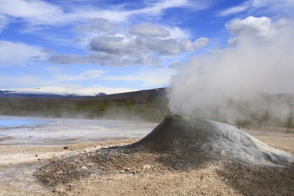 Geothermal Area Hveravellir, Island