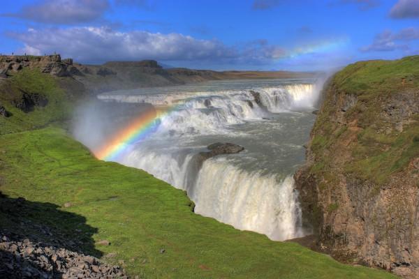 Gulfoss Wasserfall, Island