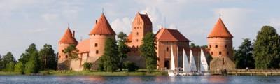Ost Europa - Schloss Trakai, Litauen