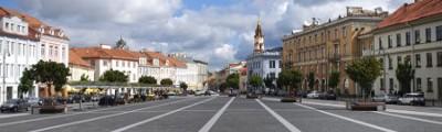 Baltische Staaten - Altstadt von Vilnius, Litauen