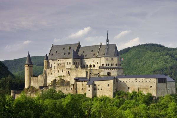 Château de Vianden in Vianden, Luxembourg
