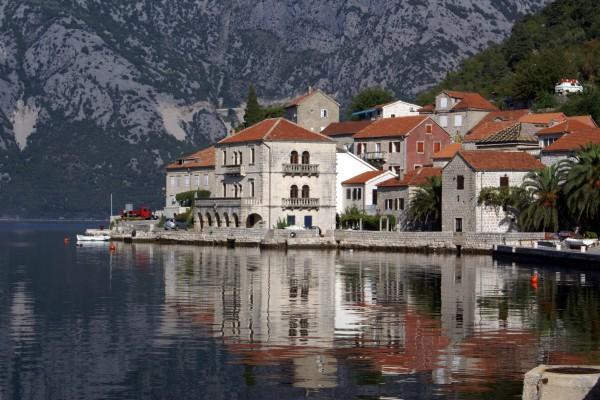 Perast an der Bucht von Kotor