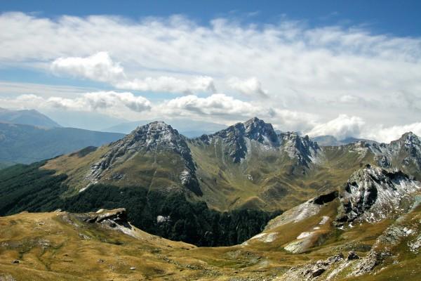 Korab Gebirge im albanisch-mazedonischen Grenzgebiet