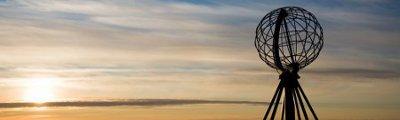Nordkapp - Weltkugel am Nordkap, Norwegen