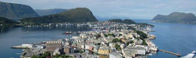 Norwegen - Alesund in Norwegen