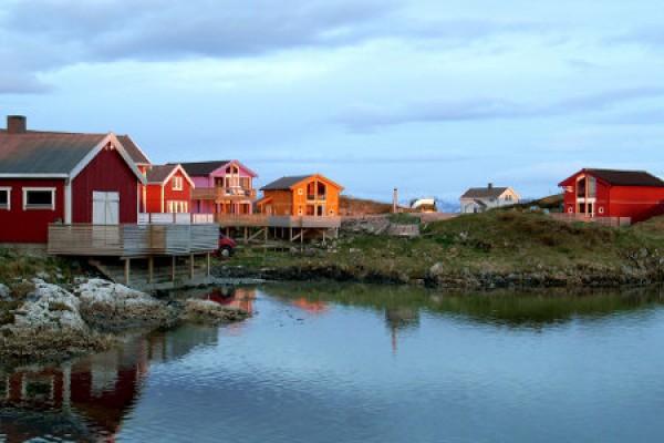 Sommaroya, im Norden von Norwegen