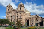 The cathedral in Cusco, the ancient capital of the Incas