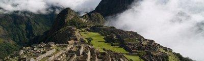 Kontinent Südamerika - Machu Picchu in Peru