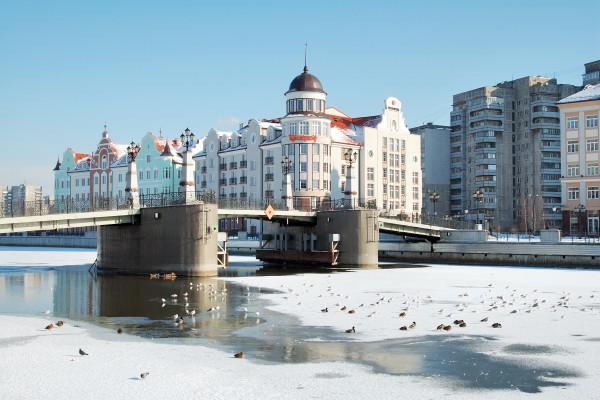 Winter in Kaliningrad