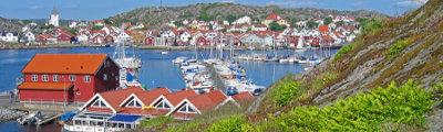 Schweden - Hafen von Skarhamn, Bohuslan