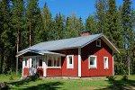 Typisches Farmhaus in Finnland