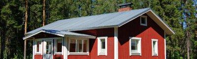 Norden - Typisches Farmhaus in Finnland
