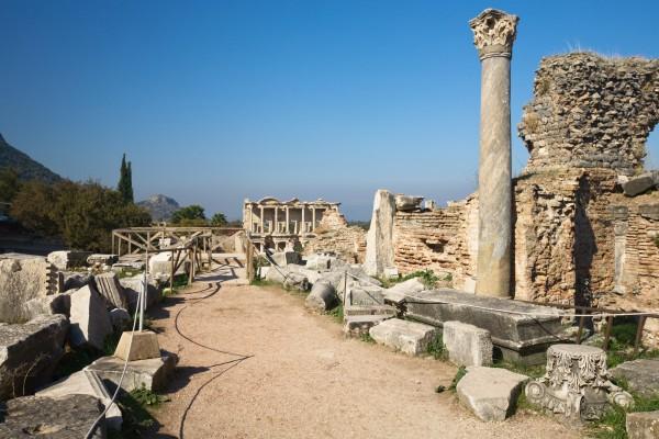Ruinen von Ephesos, türkischen Westküste