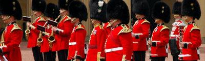 Vereinigtes Königreich - Wachablösung im Buckingham Palace