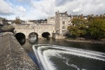 Pulteney Bridge in Bath, Sommerset
