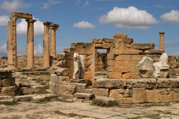 Ruinen von Cyrene, Libyen