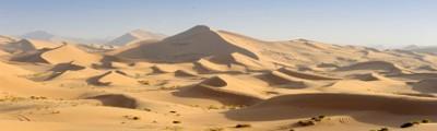 Norden - Sanddünen in der Wüste Sahara, Algerien