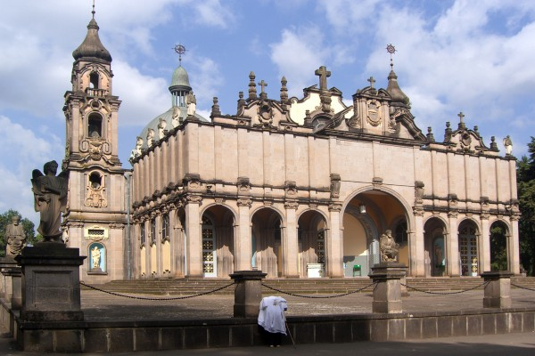 Holy Trinity Cathedral in Addis Ababa, Äthiopien