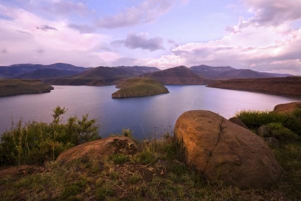 Katse Damm in Lesotho