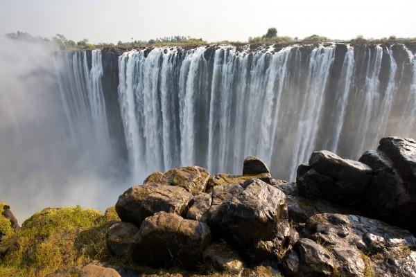 Victoria-Fälle, Zimbabwe und Sambia