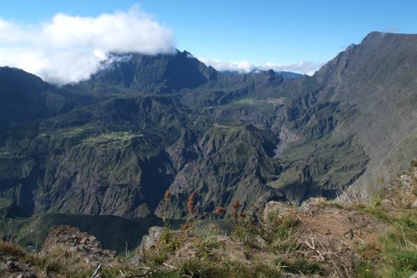 Gebirge auf der Insel Reunion