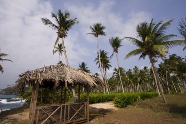 Hütte in Sao Tome und Principe