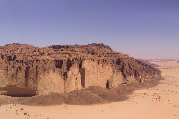 Felsen in der Wüste, Tschad