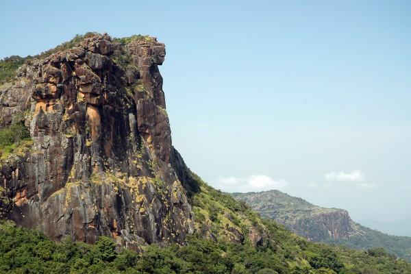 Fouta Djalon Mountains in Guinea