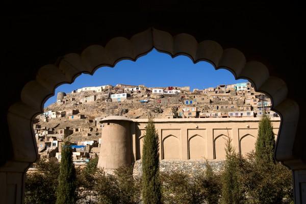Bergdorf in Afghanistan