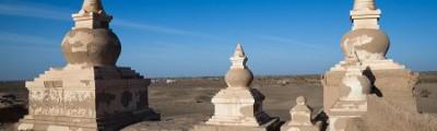 Osten - Heicheng Site in Ejin Qi, Innere Mongolei, China