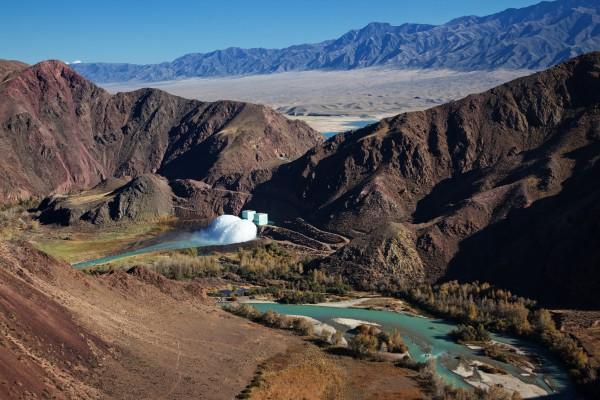 Bartogai Dam, Kasachstan
