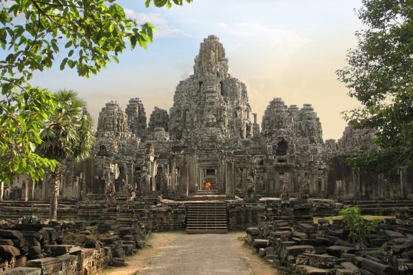 Bayon Tempel in Angkor Thom, Kambodscha