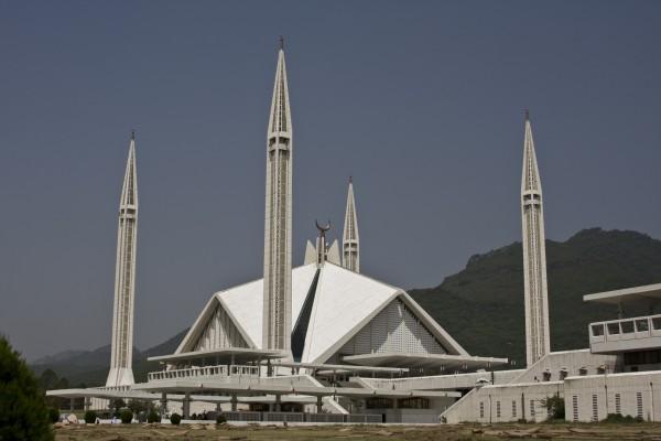 Shah Faisal Moschee, Islamabad Pakistan