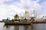 Floating village, Ali Saifudin Moschee, Brunei