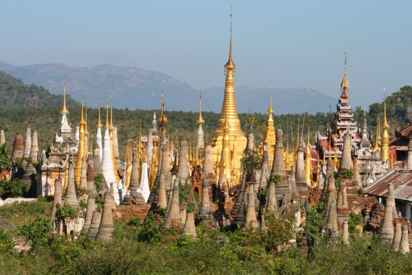 Alter Buddha Tempel, Myanmar
