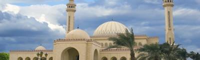 Westen - Al Fateh Moschee in Manama, Bahrain